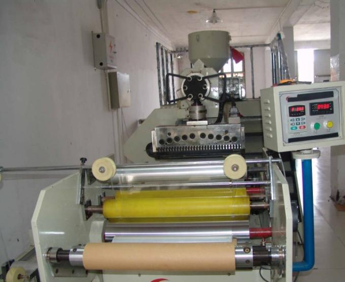 Single Layer Stretch Film Making Machine , HDPE LDPE Film Blowing Machine