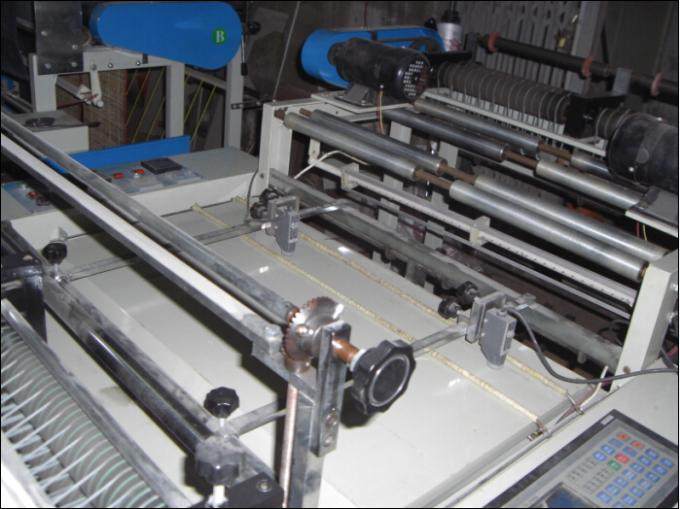 High Speed T-shirt Bag Making Machine Full Automatic with PLC control