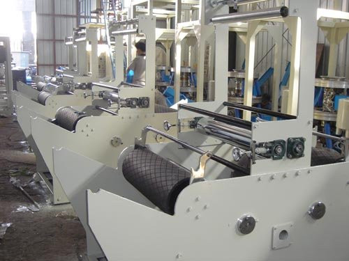 Double Winder Multilayer Blown Film Extrusion with Rotary Die Head