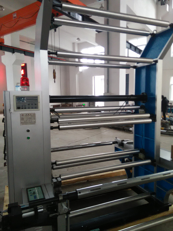 Rolling Paper Flexo Printing Machine By Auto Tension Control