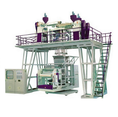 High speed Three  Layers CPP Plastic Film Blowing Machine (SJ-50*3,60*3 Model)