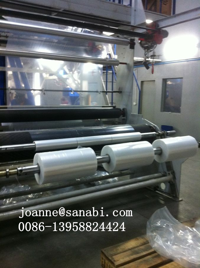 CE High Speed Multilayer  Film blowing machine With IBC System