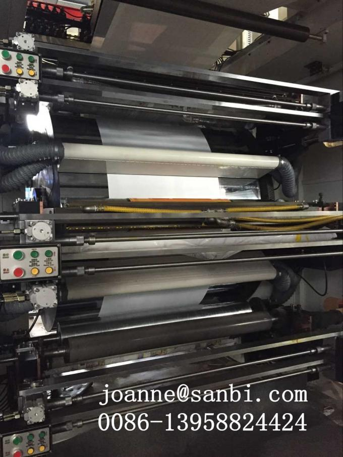 Bopp Pvc Pe Pet  Cpp Paper  Flexo Printing Machine 120-150M/MIN