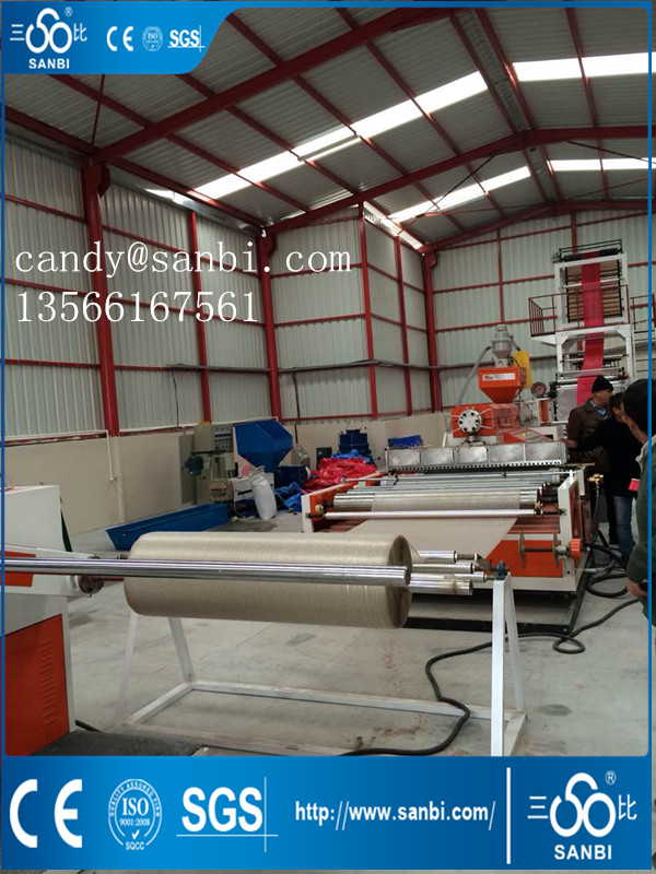 50-180kg/h HDPE Film Blowing Machine 1000-2500mm Width ISO9001