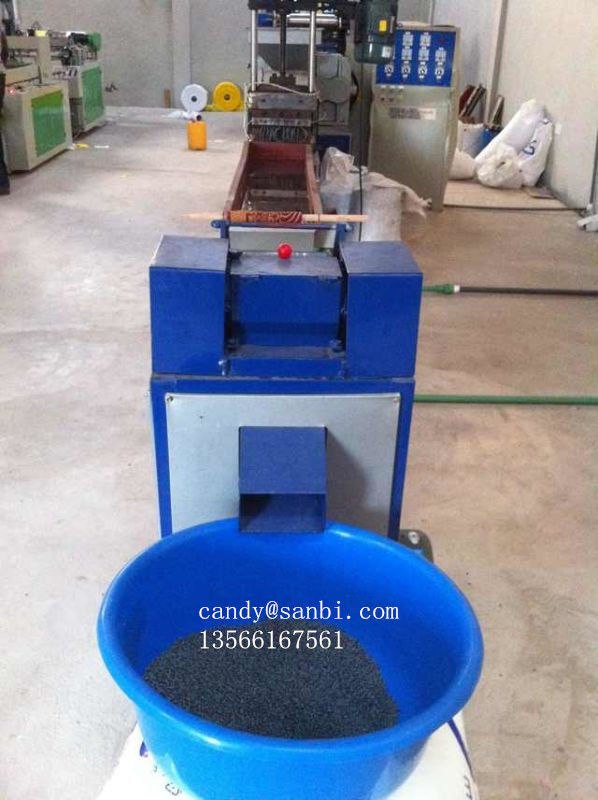 HDPE LDPE PP Granuation Plastic Recycling Line High Output