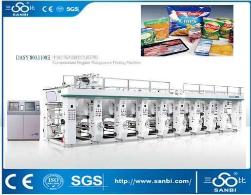 China 120m / Min Gravure Computerized Printing Machine Electrical Method distributor