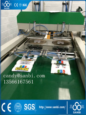 China Automatic T-Shirt Bag Making Machine High Speed Used For Shopping Market distributor