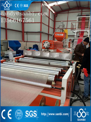 China 50-180kg/h HDPE Film Blowing Machine 1000-2500mm Width ISO9001 distributor