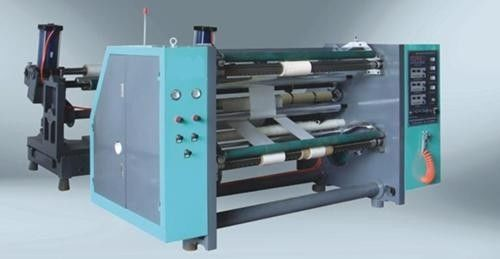 China High speed BOPP Tape Slitting Rewinding Machine , Film Slitter Machine distributor
