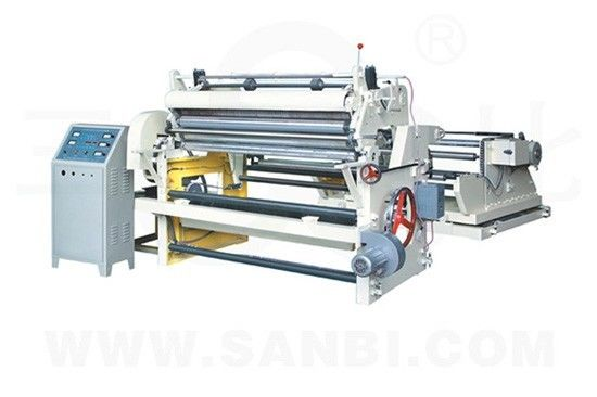 China BOPP / PE Paper Roll Slitting Rewinding Machine Horizontal Label Slitter distributor