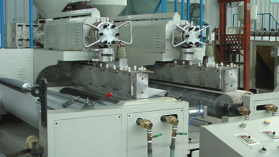 China Polyethylene Bubble Film Making Machine 5 / 4 Layers Laminating Film Blowing Machine distributor