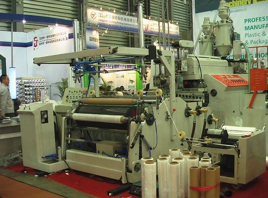 China PE Stretch Film Co Extrusion Blow Molding Equipment Full Automatic 220V distributor