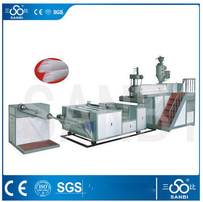 China Plastic Bubble Film Making Machine , Polyethylene Blown Film Extruder factory
