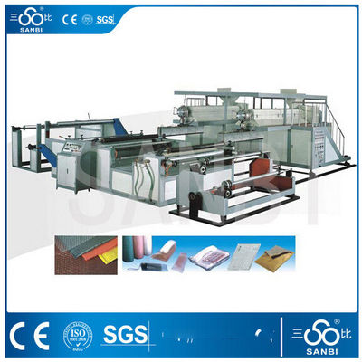 China 3 / 5 Layers Bubble Film Making Machine 1100m/h Plastic Blowing Machinery distributor