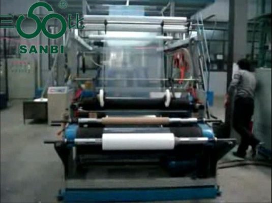 China Double Winder Multilayer Blown Film Extrusion with Rotary Die Head distributor