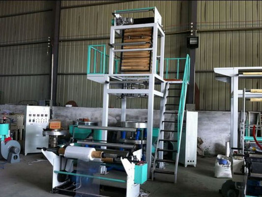 China Single Layer Plastic Film Blowing Machine / High Speed Film Blowing Machine factory