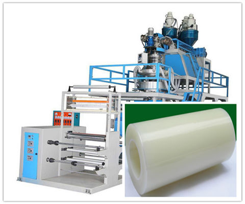 China Double Layer PP Polypropylene Plastic Film Blowing Machine , Extrusion Blowing Machine factory