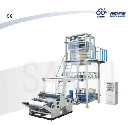 China Double Winder Blowning Film Extrusion Machine / extrusion blowing machine factory