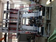 LDPE / HDPE Film Blowing Machine High Speed Double Screw Extruder 90 Kg/h